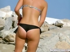 Sexy Bikini Beach Voyeur Video HD Spycam