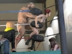 DOA5 Mila gets fucked inside a Ring (3D Animated)