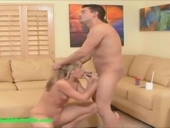 big ass onion booty blond gets fucked and big messy creampie dripping out