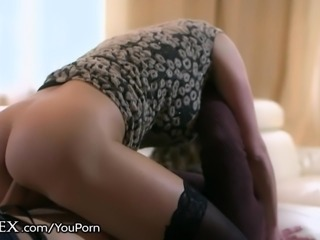 Hungarian MILF rides Her Lover