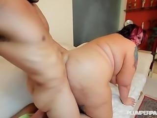 Nasty Fatty Buttfucked