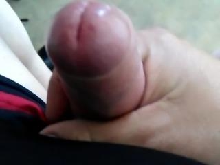 my uncute cock closeup
