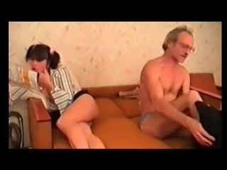 Old Man and Teen - NakedcamwomenDotcom