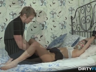 Dirty Flix - Interracial slurping fuck for revenge