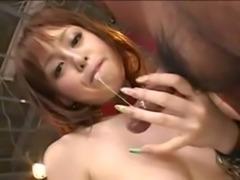 japanese girl  swallow cum