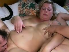 Lesbian Washes Aged Fatty