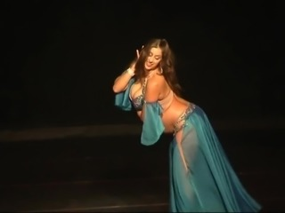 Curvy Muslim Arab Belly Dancer #2