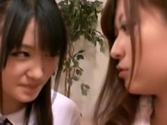 Asian Schoolgirl Makes Teacher Lesbian Pet Part 8