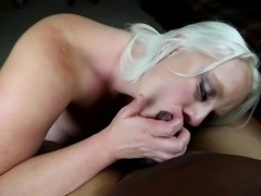 SUCKING AND FUCKING A THICK BLACK COCK