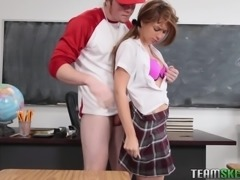 Joseline Kelly was keen on her classmate. So one day, when the teacher left...