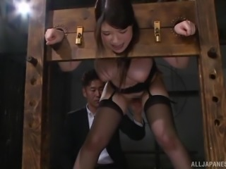 locked in stocks and treated like a slut