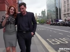 Amarna Miller is meeting up with an old friend in London and she gives him a...
