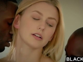 Alexa Grace first interracial threesome
