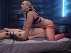Cassidy is undoubtedly the submissive here, but she is loving it, as long as...