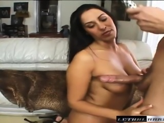 Busty brunette milf Veronica Rayne takes Nick East's dick up her ass