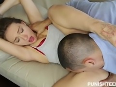 Callie Calypso is a sexy girl, who has been disobedient. Because of this, she...