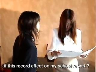 Asian Schoolgirl Makes Teacher Lesbian Pet Part 16