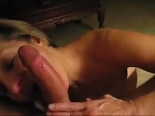 Blonde Milf Mom Dirty Bitch Deepthroat And Smallow