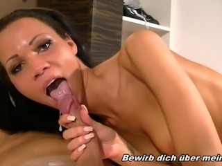 GERMAN PETITE LATIN TEEN - REAL INTERNET USER CASTING FUCK