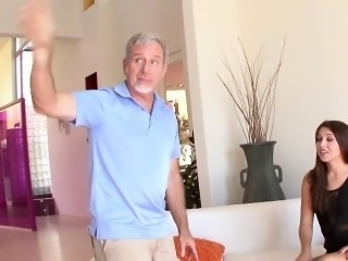 Ariana Grand in Seducing My Step Dad