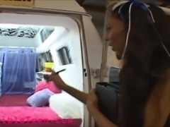 icecream truck tiny teen perfect tits gets fucked