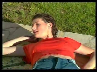 Kirsten Halborg threesome Donna Warner scene Affari Privati 2-3