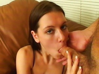 Toe sucking blowjob session