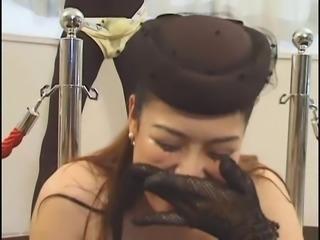 Massive Asian Bukkake with Swap and Swallow 3