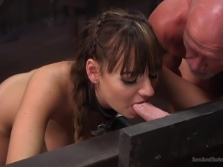 Charlotte Cross wanted to test her submissive skills and she can't find...