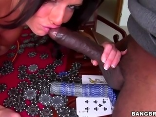 Veronica Avluv takes Monster Cock
