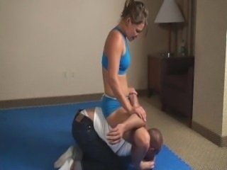 mixed wrestling female domination