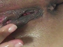 wet pussy after cum