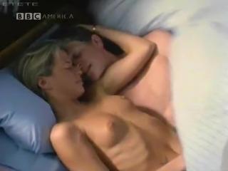 Rhona Mitra Topless Scene