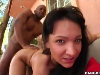Sabrina Sweet takes massive black cock