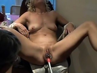 Putting on all type of playthings in her pussy that is matu