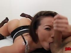 Asian Maid Kalina Ryu Pounded Hard