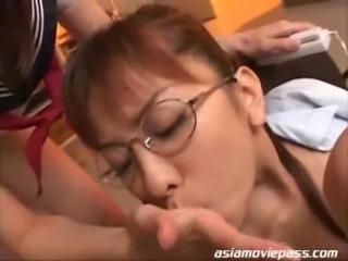 SDDO-056 - Japanese Teacher Cum Drinking Bukkake