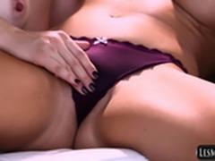 Lesbian Step to RayVeness, Jenna Reid, April O'Neil, Jelena Jensen, Nina Elle
