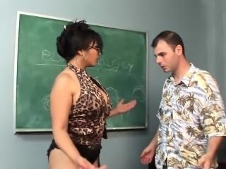 Hot teacher Mika Tan gets nailed hard