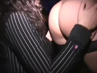 Young MILF fingered in disco Used as toy in squirt lesson
