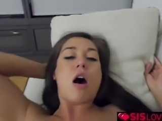 Shane Blair jerks step bro and fuck her pussy
