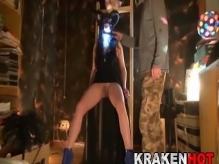 Fucking an evil sexy witch chained!! BDSM