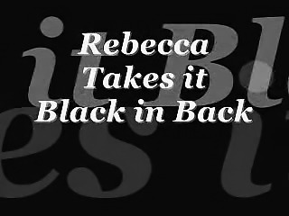 Rebecca takes it dark