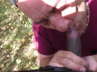 Twink Black Boy, gives dad a bi fucking facial, Dad eats big load of cum