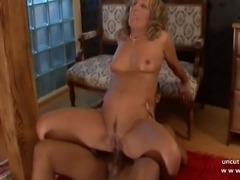 Naughty milf cougar maman hard analyzed with cum 2 mouth