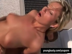 Young busty Kate gets ass fucked