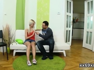 Fella assists with hymen checkup and penetrating of virgin n