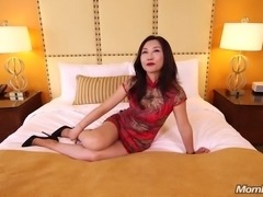 FULANAX-COM     Lulu 45 year old busty petite Asian first Anal