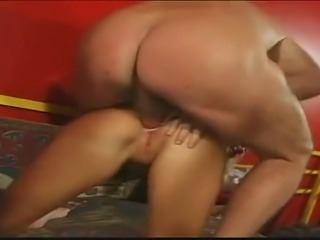 blonde natural big beauti breasts takes 2cocks
