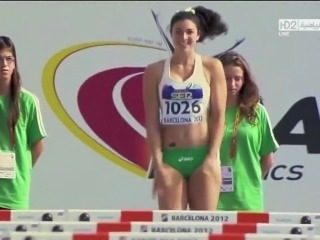 Michelle Jenneke is a nice fit girl